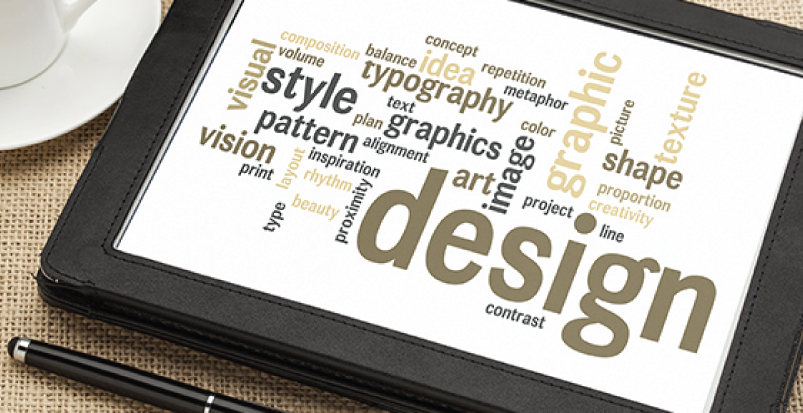 graphic design to stand out