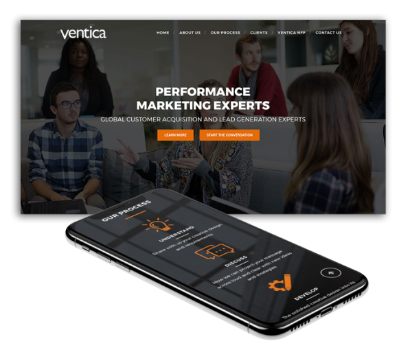 Ventica Web Design Agency